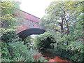 TQ2865 : Railway Bridge over the Wandle by Stephen Craven