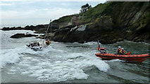 SX2553 : Rescued by RNLI lifeboat by Roy Parkhouse