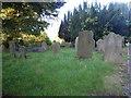 NZ2557 : Parish Church of St Andrew, Lamesley, Graveyard by Alexander P Kapp