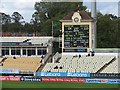 SP0684 : Edgbaston Cricket Ground: the scoreboard by John Sutton