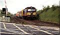 J2184 : Weed spraying train near Templepatrick by Albert Bridge