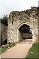 TQ8353 : Entrance to Leeds Castle, Kent by Christine Matthews