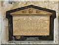 SJ9494 : Memorial to Hyde John Clarke by Gerald England