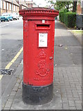 TQ2284 : Edward VII postbox, High Road / St. Andrew's Road, NW10 by Mike Quinn