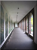 TQ2479 : Covered walkway in Holland Park by Rod Allday