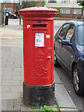 TQ2284 : Edward VII postbox, Grange Road, NW10 by Mike Quinn