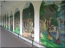 TQ2479 : Holland Park murals by Rod Allday
