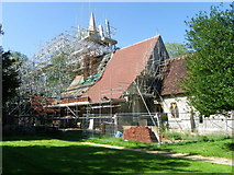 SU3940 : The Church of St Peter and Holy Cross, Wherwell by Maigheach-gheal
