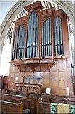 TQ9220 : Organ in St Mary the Virgin Church, Rye Church by Julian P Guffogg