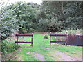 TL4803 : Entrance to Epping Forest from Forest Glade  by Roger Jones