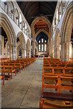 TA2609 : Grimsby Minster view towards altar by JOHN BLAKESTON
