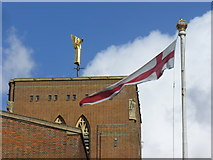 SU9850 : Guildford Cathedral Tower by Colin Smith
