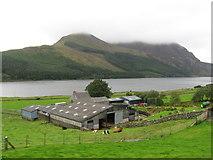 SH5654 : Bron-y-fedw isaf farm near Snowdon Ranger by Gareth James