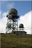 NA0900 : Radar domes, Mullach Mor, St Kilda by Phil Thirkell