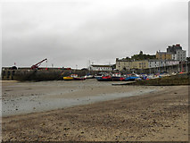 SN1300 : Tenby Harbour at Low Tide by David Dixon