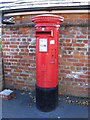 TM2648 : Station Road Postbox by Adrian Cable