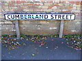 TM2648 : Cumberland Street sign by Adrian Cable