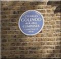Photo of Charles Gounod blue plaque