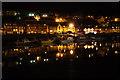 NZ9010 : Harbour lights by Richard Croft