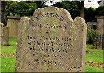 J3375 : Clifton Street graveyard, Belfast (3) by Albert Bridge