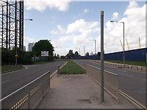 TQ3979 : Millennium Way, North Greenwich by David Anstiss