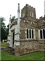SP9832 : Church End- St. John the Baptist, Eversholt: south transept by Basher Eyre