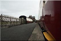 NZ9208 : Hawsker Station by Richard Croft