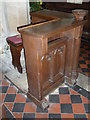 SP9019 : St Mary the Virgin Mentmore- prayer desk by Basher Eyre