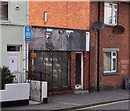 J5081 : Derelict shop, Bangor (1) by Albert Bridge