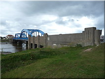 SH9980 : Foryd Bridge across the Afon Clwyd by Jeremy Bolwell