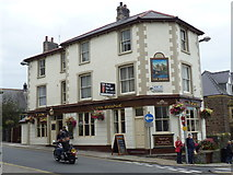 SH7877 : The Bridge (Y Bont) pub, Conwy by Meirion
