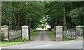 SO8463 : Gates, Ombersley by Stephen Richards