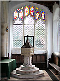TM3669 : St Peter's church in Sibton by Evelyn Simak