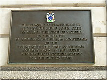 TQ2879 : Plaque within Victoria Station by Basher Eyre