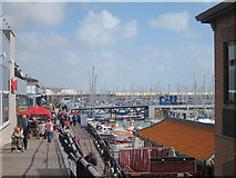 TQ3303 : Entering Brighton Marina by Oast House Archive