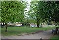 TQ2782 : Small lake, Regent's Park by N Chadwick