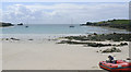 SV8808 : The Cove, St Agnes, Scilly, from the Bar by John Rostron