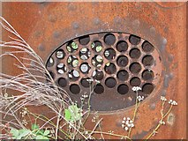 NZ8204 : Bits of an old boiler by Pauline E