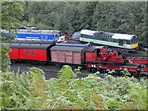 NZ8204 : Network SouthEast - a long way from home by Pauline E