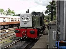 TQ8833 : Kent & East Sussex Railway, Tenterden Town Station by Helmut Zozmann