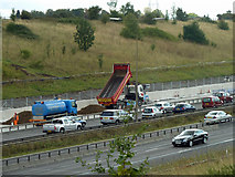 TQ5885 : Widening the M25 by Robin Webster
