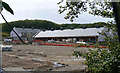 SV9110 : The new Five Islands School under construction, St Mary's by John Rostron