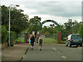 TQ5781 : Horses on the way to Belhus Park by Robin Webster