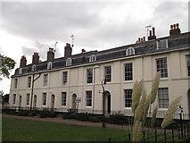TR1457 : Dane John Garden Terrace, Canterbury by David Anstiss