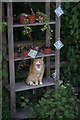 ST9561 : Ginger cat on Spout Lane by Stephen McKay