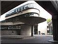 TQ2681 : Battleship Building and its concrete umbrella by David Hawgood