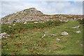 SX5667 : Sheepstor: approaching Sheeps Tor by Martin Bodman