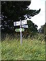 TM4156 : Roadsign on Ferry Road by Adrian Cable
