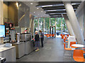 TQ2681 : City of Westminster College - garden cafe by David Hawgood