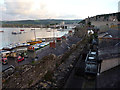 SH7877 : View over the town walls towards the quay, Conwy by Phil Champion